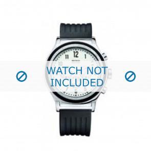 Hugo Boss pulseira de relogio HB-54-1-14-2117 / HB1512324 Borracha / plástico Preto 22mm