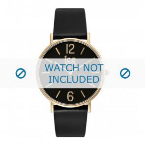 Ice Watch pulseira de relogio CT.BGD.36.L.16 Couro Preto 18mm