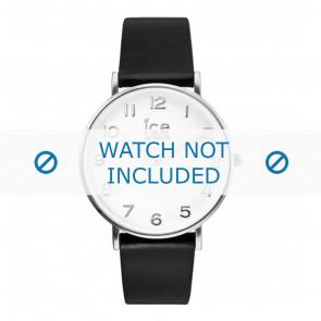 Ice Watch pulseira de relogio 001502 / CT.BSR.36.L.16 Couro Preto 18mm