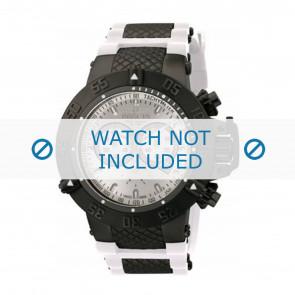 Invicta pulseira de relogio 11840 Borracha Branco