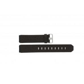 Jacob Jensen pulseira de relogio 800 / 843 Couro Marrom 19mm