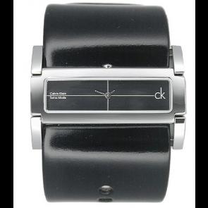 Pulseira de relógio Calvin Klein K44231 Couro Preto