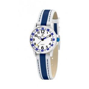 Pulseira de relógio Calypso k5212-1 Couro Azul