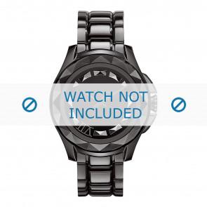 Pulseira de relógio Karl Lagerfeld KL1001 Aço Preto 20mm