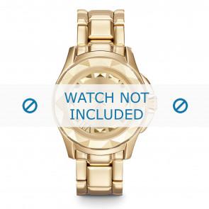 Karl Lagerfeld pulseira de relogio KL1026 Metal Banhado a ouro