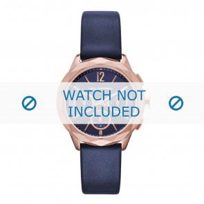 Karl Lagerfeld pulseira de relogio KL4010 Couro Azul