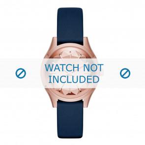 Karl Lagerfeld pulseira de relogio KL1632 Couro Azul