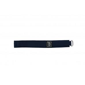Bracelete em velcro azul marinho 18mm