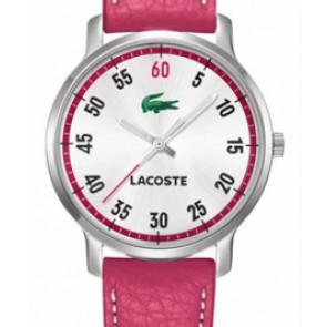 Pulseira de relógio Lacoste 2000567 / LC-41-3-14-2199 Couro Rosa 20mm