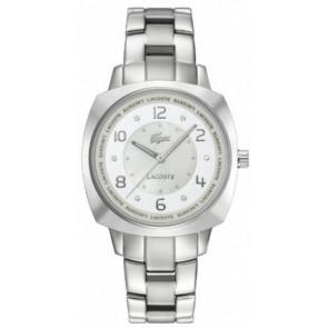 Pulseira de relógio Lacoste 2000601 / LC-47-3-14-2233 Aço Aço inoxidável 18mm