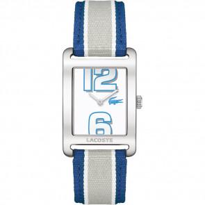 Pulseira de relógio Lacoste 2000693 / LC-51-3-14-2261 Couro Azul 20mm