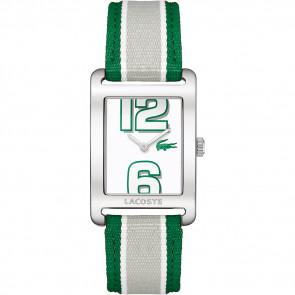 Pulseira de relógio Lacoste 2000696 / LC-51-3-14-2261 Couro Verde 20mm