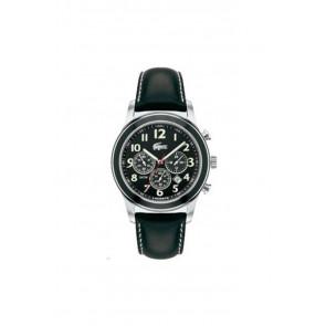 Pulseira de relógio Lacoste 2010333 / LC-11-1-14-0032 Couro Preto 22mm