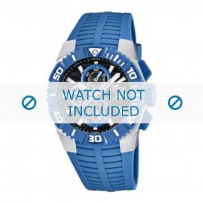 Lotus style pulseira de relogio 15778.3 Borracha / plástico Azul claro