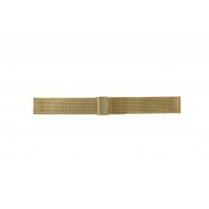Pulseira de relógio WoW MESH-22.3 Aço Banhado a ouro 22mm