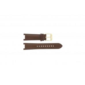 Pulseira de relógio Michael Kors MK2249 Couro Marrom 21mm
