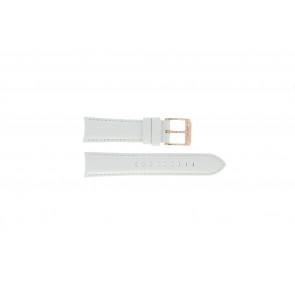Pulseira de relógio Michael Kors MK2289 Couro Branco 22mm