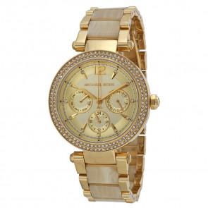 1a09db33110b4 Pulseira de relógio Michael Kors MK5956 Aço Banhado a ouro