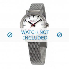 Mondaine pulseira de relogio A658.30301.11SBV / BM20037 / 30301 / EVO 26 Metal Prata 12mm