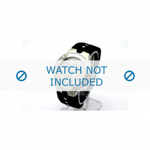 Movado pulseira de relogio 84c51892.0 Borracha Preto
