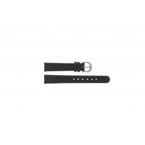 Danish Design pulseira de relogio IV12Q272 / IV16Q272 / DDBL14 Couro Preto 14mm