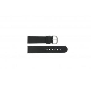 Danish Design pulseira de relogio IQ13Q586 / IV13Q843 Couro Preto 22mm