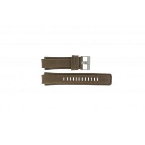Timex pulseira de relogio P2N721 / 45601 Couro Marrom 16mm