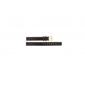 Skagen pulseira de relogio 358XSGLD Couro Marrom 12mm