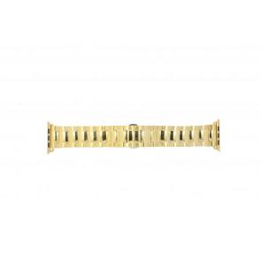 Apple (modelo de substituição) pulseira de relógio LS.AB.106 Aço Dourado 42mm