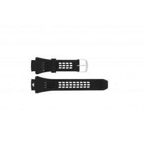 Pulseira de relógio Adidas ADP6002 Borracha Preto 18mm