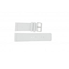 Pulseira de relógio Universal OOZOO-WIT-28MM Couro Branco 28mm