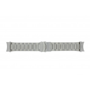 Dutch Forces pulseira de relogio 35C020204-12750 / 35C020202 / 35C020203 / 35C020205 / 35C020206 Metal Prata 24mm
