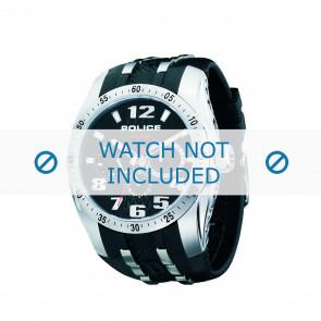 Police pulseira de relogio PL-12087J-02 Borracha / plástico Preto