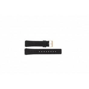 Skagen pulseira de relogio 331XLRLD / 331XLRLDO Couro Marrom 19mm + costura marrom