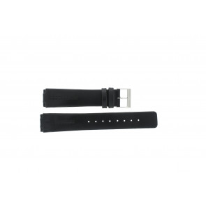 Pulseira de relógio Skagen 433LSLC Couro Preto 18mm