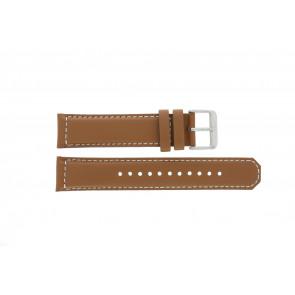 Pulseira de relógio Seiko SRPA75K1 / 4R35 01N0 / M0FP71BN0 Couro Conhaque 21mm