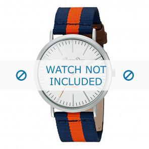 Superdry pulseira de relogio SYG183UO Nylon / pérola Azul