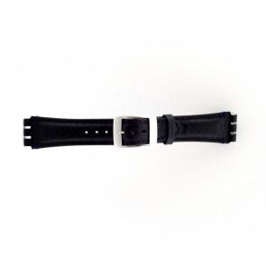 Bracelete para Swatch azul escura 19mm PVK-SC14.05