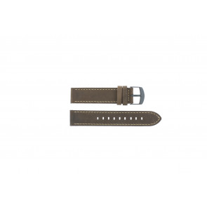 Timex pulseira de relógio T49905 Couro Castanho 20mm