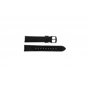 Timex pulseira de relógio T2N790 Couro Preto 18mm