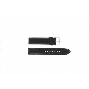 Timex pulseira de relógio T2N156 Couro Preto 20mm