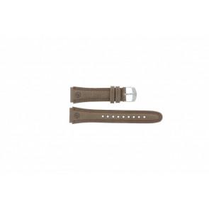 Timex pulseira de relógio T44381 Couro Castanho 20mm