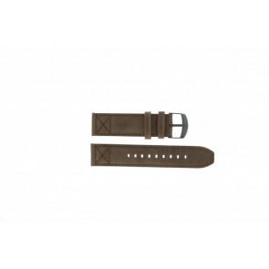Timex pulseira de relógio T49986 Couro Castanho 22mm