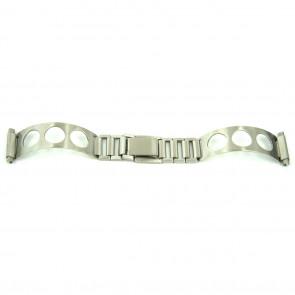 Trecho de bracelete cromo que encaixa em todos os relógios de senhora com tamanho de 10 a 14mm PVK-EC611