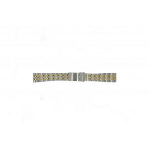 Morellato pulseira de relógio U0220184 Aço Prata 18mm