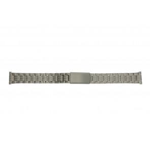 Pulseira de relogio YD93 Titânio Prata 14mm