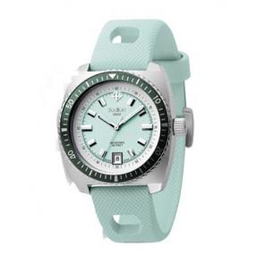 Zodiac pulseira de relogio ZO2246 Couro Azul claro