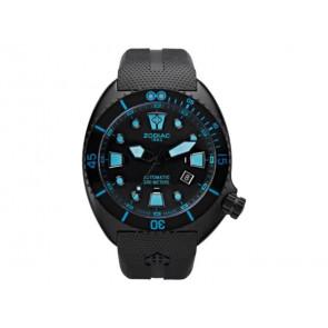 Pulseira de relógio Zodiac ZO8018 Borracha Preto 21mm