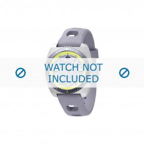 Zodiac pulseira de relogio ZO2262 Borracha Cinza